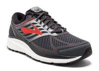 Brooks Men's Addiction 13 Wide (2E) - Ebony/Black/Red (1102612E080)