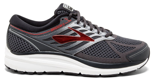 Brooks Men's Addiction 13 Extra Wide (4E) - Ebony/Black/Red (1102614E080)