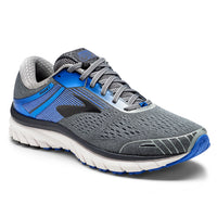 Brooks Men's Adrenaline 18 Extra Wide (4E) - Grey/Blue/Black (1102714E015)