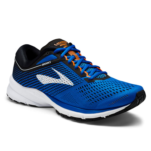 Brooks Men's Launch 5 - Blue/Black/Orange (1102781D420)