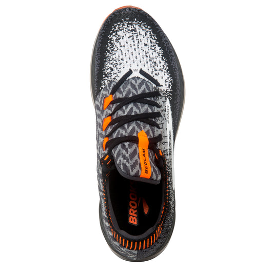 Brooks Men's Bedlam - Black/Grey/Orange (1102831D005)
