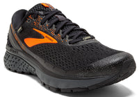 Brooks Men's Ghost 11 GTX - Black/Orange/Ebony (1102871D038)