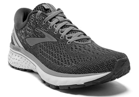 Brooks Men's Ghost 11 - Ebony/Grey/Silver (1102881D003)