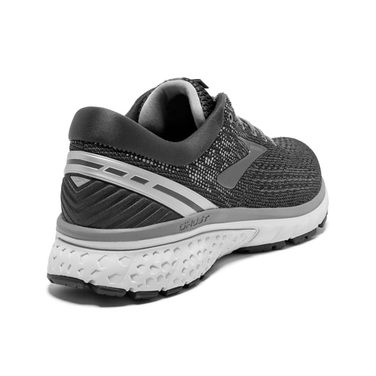 Brooks Men's Ghost 11 Wide (2E) - Ebony/Grey/Silver (1102882E003)