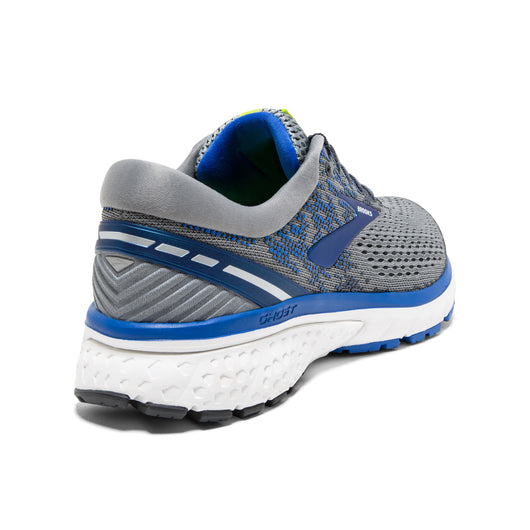 Brooks Men's Ghost 11 - Grey/Blue/Silver (1102881D006)