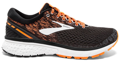 Brooks Men's Ghost 11 - Black/Silver/Orange (1102881D093)