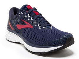 Brooks Men's Ghost 11 - Navy/Red/White (1102881D428)