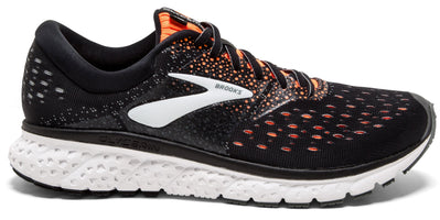 Brooks Men's Glycerin 16 - Black/Orange/Grey (1102891D069)