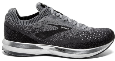 0f156ec5b273 Men s Brooks Levitate 2 Running Shoe Black Grey Ebony 1102901D060