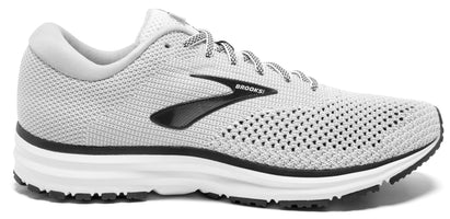 Brooks Men's Revel 2 - White/Grey/Black (1102921D135)