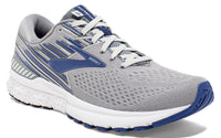 Brooks Men's Adrenaline GTS 19 - Grey/Blue/Ebony (1102941D058)