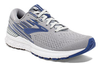 Brooks Men's Adrenaline GTS 19 Wide (2E) - Grey/Blue/Ebony (1102942E058)