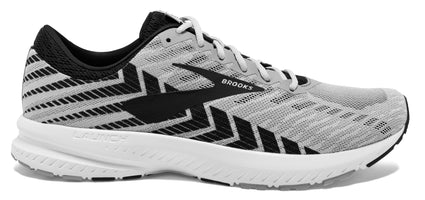 Brooks Men's Launch 6 - Alloy/Black/Grey (1102971D016)