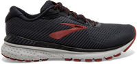 Brooks Men's Adrenaline GTS 20 - Black/Ebony/Ketchup (1103071D029) Running Shoe
