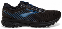Brooks Men's Ghost 12 GTX - Black/Ebony/Blue (1103111D064)
