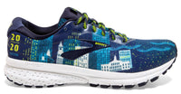 Brooks Men's Run Boston 2020 Ghost 12 - Navy/Blue/Nightlife (1103161D443)