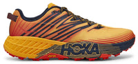 Hoka One One Men's Speedgoat 4 - Gold Fusion/Black Iris (1106525-GFBI) Lateral Side