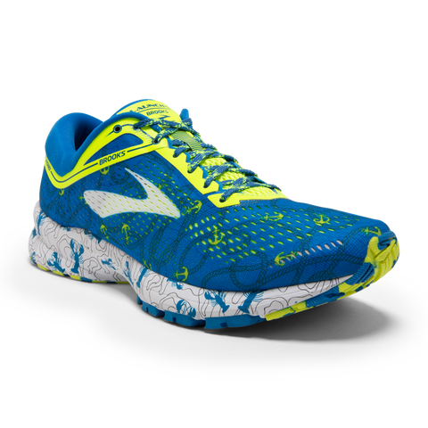 Brooks Women's 2018 Boston Edition Launch 5 - Boston Blue/Nightlife/White (1202661B417)