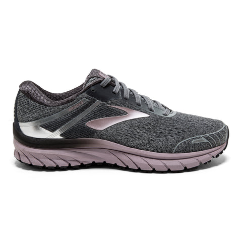 Brooks Women's Adrenaline 18 RG - Grey/Ebony/Rose (1202681B005)