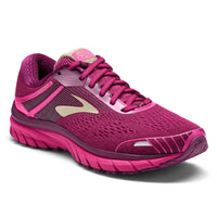 Brooks Women's Adrenaline 18 - Pink/Plum/Champagne (1202681B630)