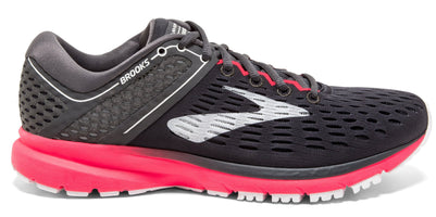Brooks Women's Ravenna 9 - Ebony/Diva Pink/White (1202691B027)