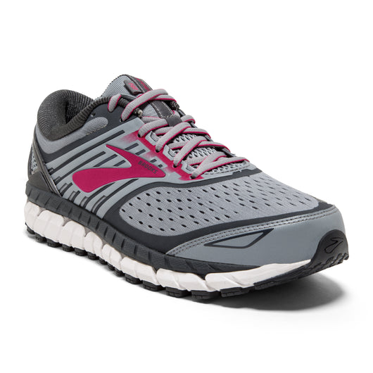 Brooks Women's Ariel 18 - Grey/Grey/Pink (1202711B091)