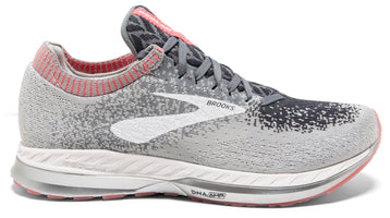 Brooks Women's Bedlam - Grey/Coral/White (1202721B137)