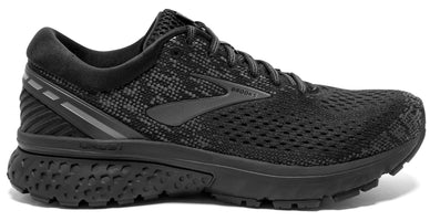 Brooks Men's Ghost 11 Extra Wide (4E) - Black/Ebony (1102884E071)