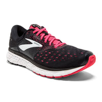 Brooks Women's Glycerin 16 Wide (D) - Black/Pink/Grey (1202781D070)