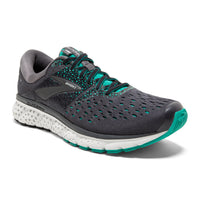 Brooks Women's Glycerin 16 Wide (D) - Ebony/Green/Black (1202781D081)