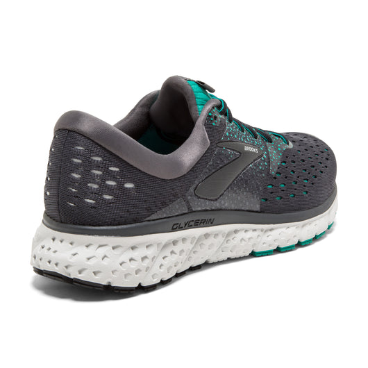 Brooks Women's Glycerin 16 - Ebony/Green/Black (1202781B081)