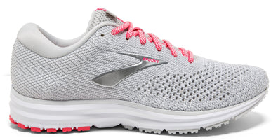 Brooks Women's Revel 2 - Grey/White/Pink (1202811B028)