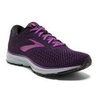 Brooks Women's Revel 2 - Black/Purple/Grey (1202811B080)