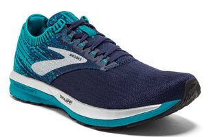 Brooks Women's Ricochet - Navy/Blue/White (1202821B482)