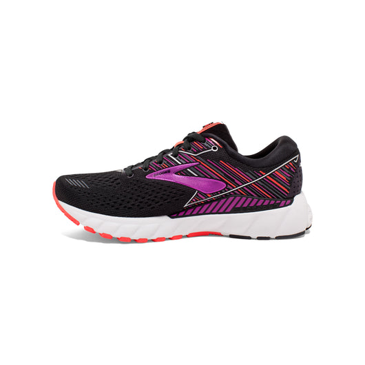 Brooks Women's Adrenaline GTS 19 - Black/Purple/Coral (1202841B080)