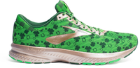 Brooks Mens Launch 6 Running Shoe St. Patrick's Day St. Pattys Shamrock Shoe 1102971D349
