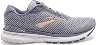 Brooks Women's Adrenaline GTS 20 Wide (D) - Grey/Pale Peach/White (1202961D073)