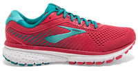 Brooks Women's Ghost 12 - Teaberry/Rumba/Viridian (1203051B672)