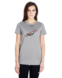 UA LADIES LOCKER TEE - CAN-WESTB-1305510