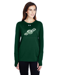UA LADIES LS LOCKER TEE - CAN-CANTON-1305681