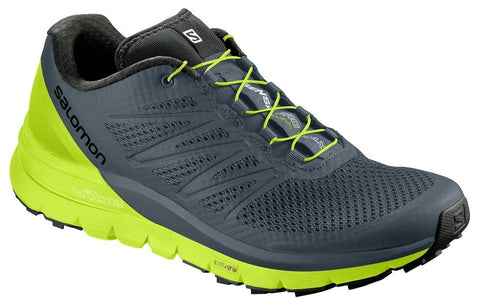 Salomon Men's Sense Pro Max - Stormy Weather/Acid Lime/Black (L40241100)