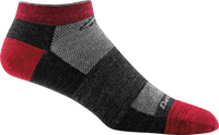 Darn Tough Men's No Show Light Running Socks - Team DTV (1437-Team DTV)