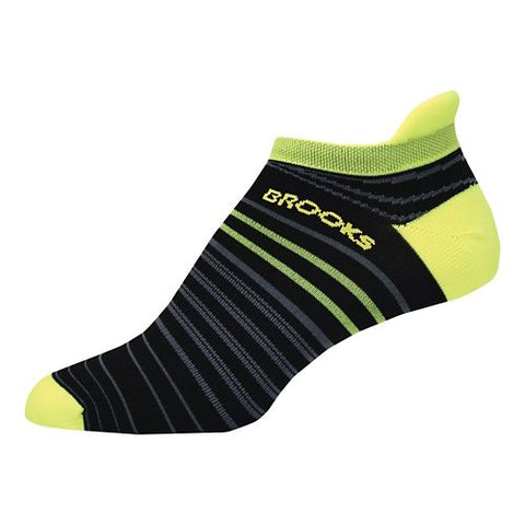 Brooks Launch Lightweight Tab Running Socks - Black/Nightlife (742086070)