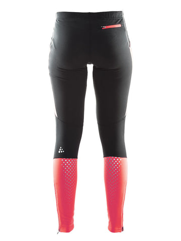 Craft Women's Brilliant Thermal Tight - Black/Crush (1903606-9410)