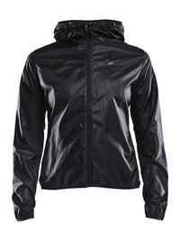 Craft Women's Breakaway Lightweight Jacket - Black (1905839-999000)