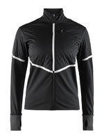 Craft Women's Urban Run Thermal Wind Jacket - Black/Silver (1906438-999926)
