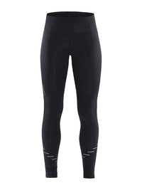 Craft Women's Lumen Urban Run Tight - Black/Silver (1907714-999926)