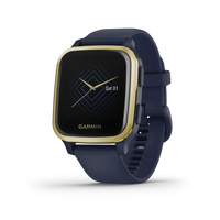 Garmin Venu Sq Music Edition - Light Gold/Navy (010-02426-02)