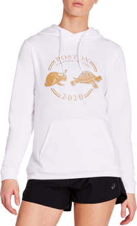Asics Women's Boston T&H Hoodie - Brilliant White (2012B440.100)