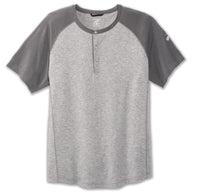 Brooks Men's Cadence Short Sleeve - Heather Ash/Ash (211211042)